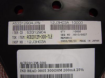 TDK 0805 Chip Ferrite Bead EMI ACB2012M-040-TL Qty.100
