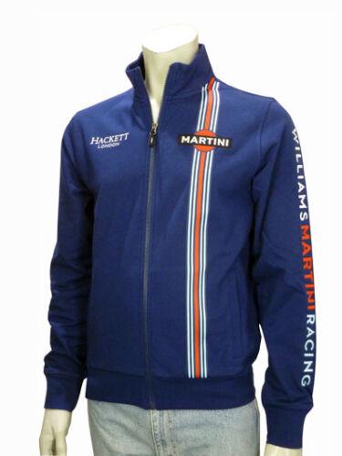OFFERTA FELPA ZIP LUNGA SWEATSHIRT WILLIAMS MARTINI RACING F1 TEAM DA 98€ A 79€