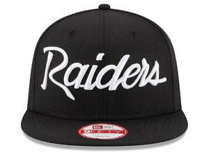 best service 58af1 58f3e Image is loading Oakland-Raiders-New-Era-NFL-20th-Anniversary-Script-