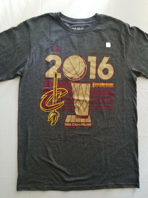 catturare prodotti caldi uomo Cleveland Cavaliers adidas 2016 NBA Champions Locker Room T-Shirt ...