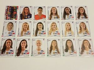 USA-TEAM-Women-039-s-World-Cup-France-2019-Panini