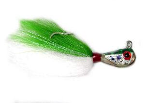 Grub-fishing-lure-Jig-Dressed-Green-Jigging