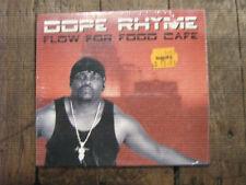 Dope Rhyme Flow for Food Cafe RARE Midwest US Nebraska Gangsta Rap CD NEW SEALED