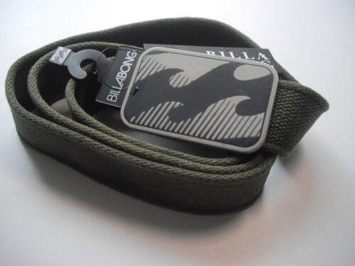Billabong Ceinture Dynamic Belt militaire k2015