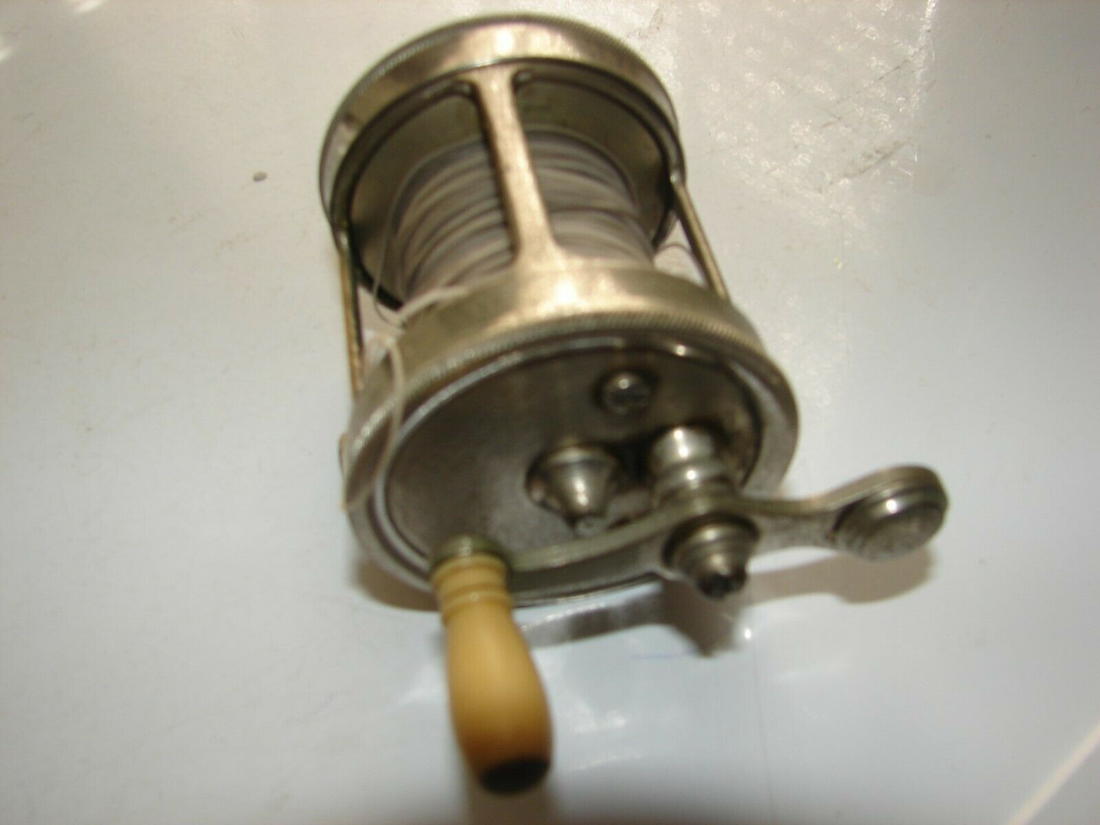Vintage A.F.Meisselbach & Bros.   Tripart  580 ,Bait casting Freash Water Reel.  save 35% - 70% off