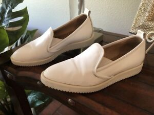 42fd4e4a6f2 Image is loading Everlane-Leather-Street-Shoe-White-Made-in-Italy-