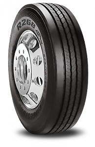 1 New Bridgestone R268 Ecopia  - 10.00/r22.5 Tires 1000225 10.00 1 22.5