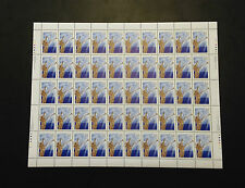 Canada #1764b XF/NH Rare Perf 13.1 x 13.6 Sheet Of 50 - With All 4 Plate Blocks