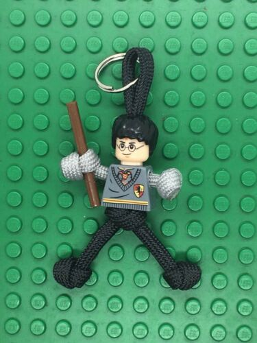 LEGO Harry Potter PARACORD BUDDY keyring HAND MADE IN UK