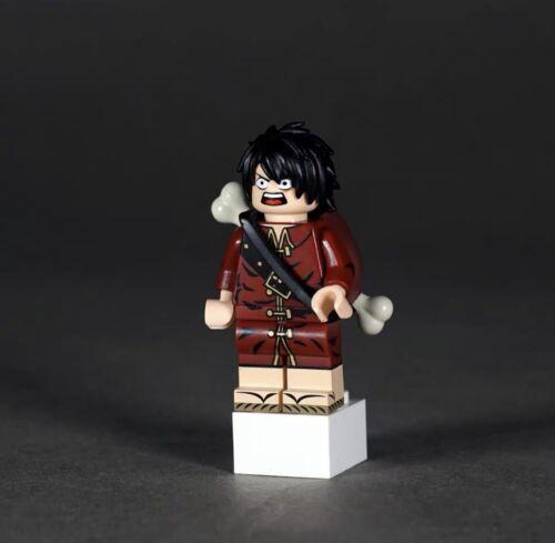 ⎡OUTSIDE BRICK⎦Custom One Piece Luffy Lego Minifigure