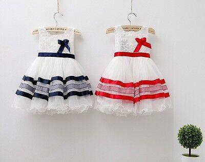 2016 new baby girls Princess flower  dresses