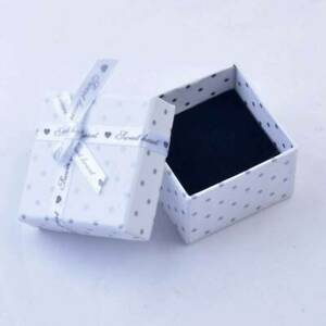3//6pcs Dot Jewellery Gift Boxes High Quality Earring Necklace Bracelet Ring Set