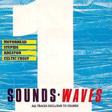 "SOUNDS WAVES - MOTORHEAD (LIVE) - STUPIDS - KREATOR - CELTIC FROST 7"" EP 1988 EX"