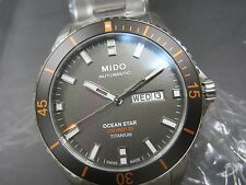 MIDO OCEAN STAR MEN'S WATCH AUTOMATIC ALL TITANIUM SAPPHIRE M0264304406100
