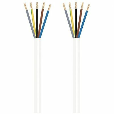 5 X 2,5²mm H05 Vv-f Preiswert Kaufen Herdanschlussleitung Weiß 1,5 M