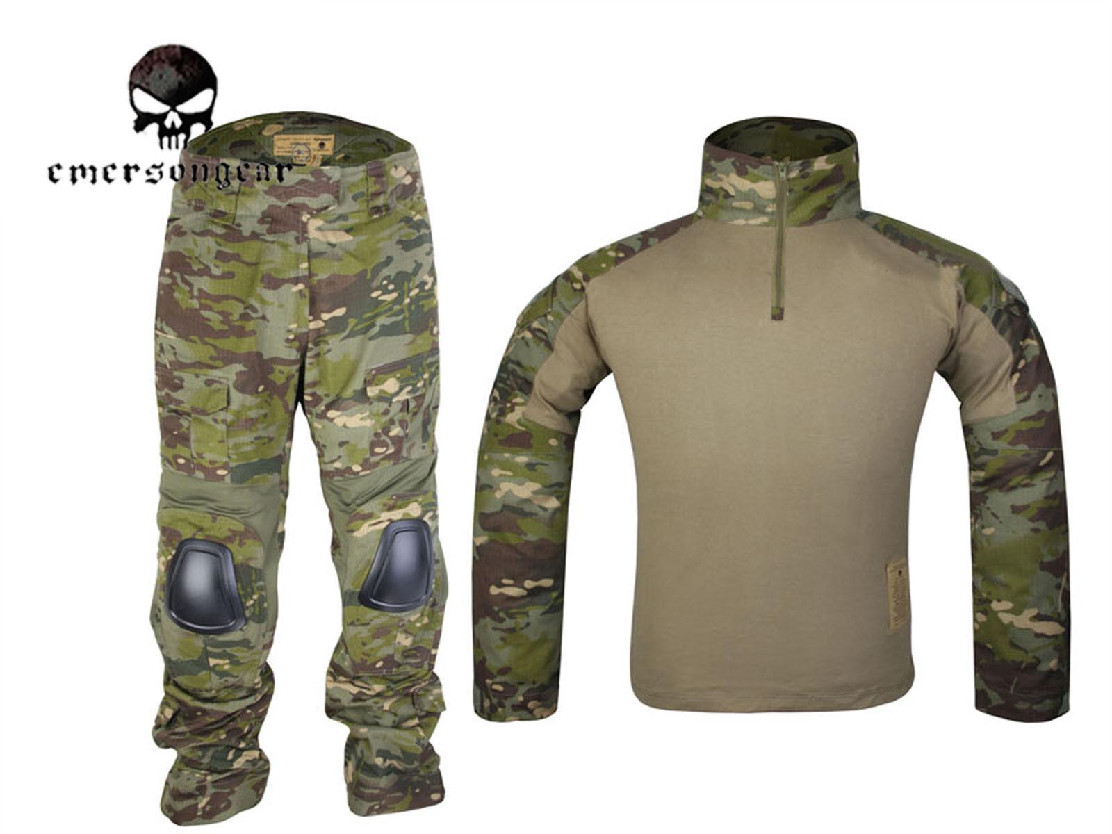EMERSON Gen2 Cype Style Combat Uniform Tactical Hunting BDU  Multicam Tropic  sale online save 70%