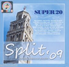 SPLIT 2009 Festival Zabavne Glazbe CD Hrvatska SUPER 20 Severina Jole Jelena Hit