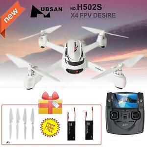 Hubsan-X4-H502S-FPV-5-8G-GPS-RC-Quadcopter-Camera-Drone-Free-2-Battery-amp-4-Blades