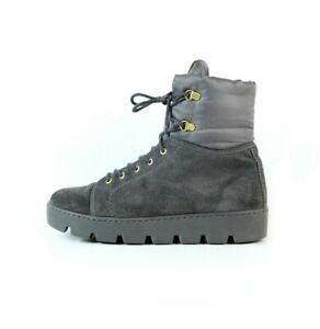 NAPAPIJRI suede hi tops boots shoes platform outsole gray 39EU 6Uk 8.5US womens