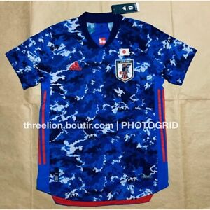 Adidas 2020 JAPAN Home Authentic HEAT.RDY Soccer Jersey Football ...