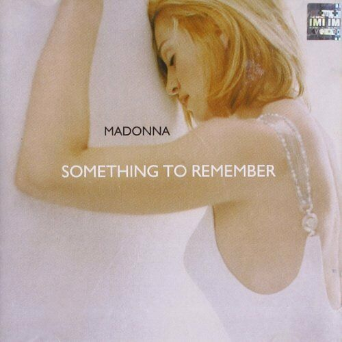 1 of 1 - Madonna / Something To Remember *NEW* CD