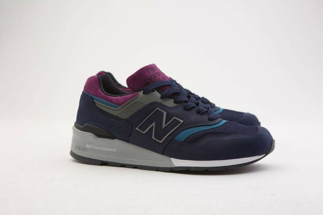 M997PTB New Balance Men 997 Northern Lights Lights Lights M997PTB - Made In USA navy grey d903b5