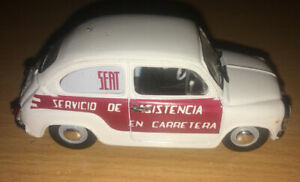 3-in-environ-7-62-cm-Siege-600E-FIAT-500-600-1970-service-voiture-SOLIDO-1-43-DIECAST-Comme-neuf