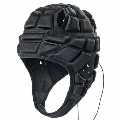 Kid Football Goalkeeper Helmet Rugby Head Guard Goalie Roller Hat Head Protector