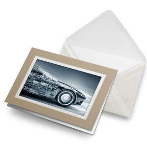 Greetings-Card-Biege-Futuristic-Concept-Car-Driver-Vehicle-8666