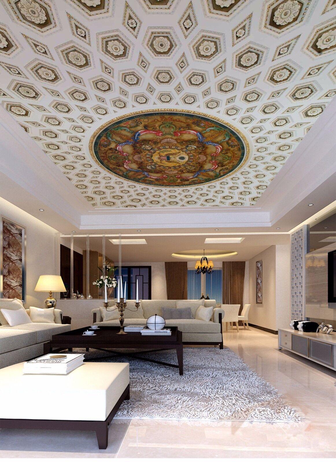 3D Art Painting 5 Ceiling WallPaper Murals Wall Print Decal Deco AJ WALLPAPER UK