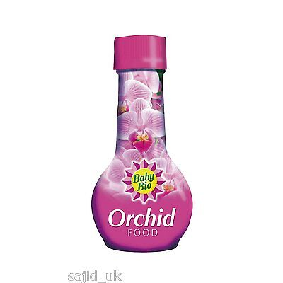 Baby Bio Orchid House Plant Food Feed Fertiliser 175ml - FREE P&P