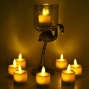 Luminara-Tea-Lights-Set-of-4-Flameless-Moving-Flicker-with-Timer-for-Wedding