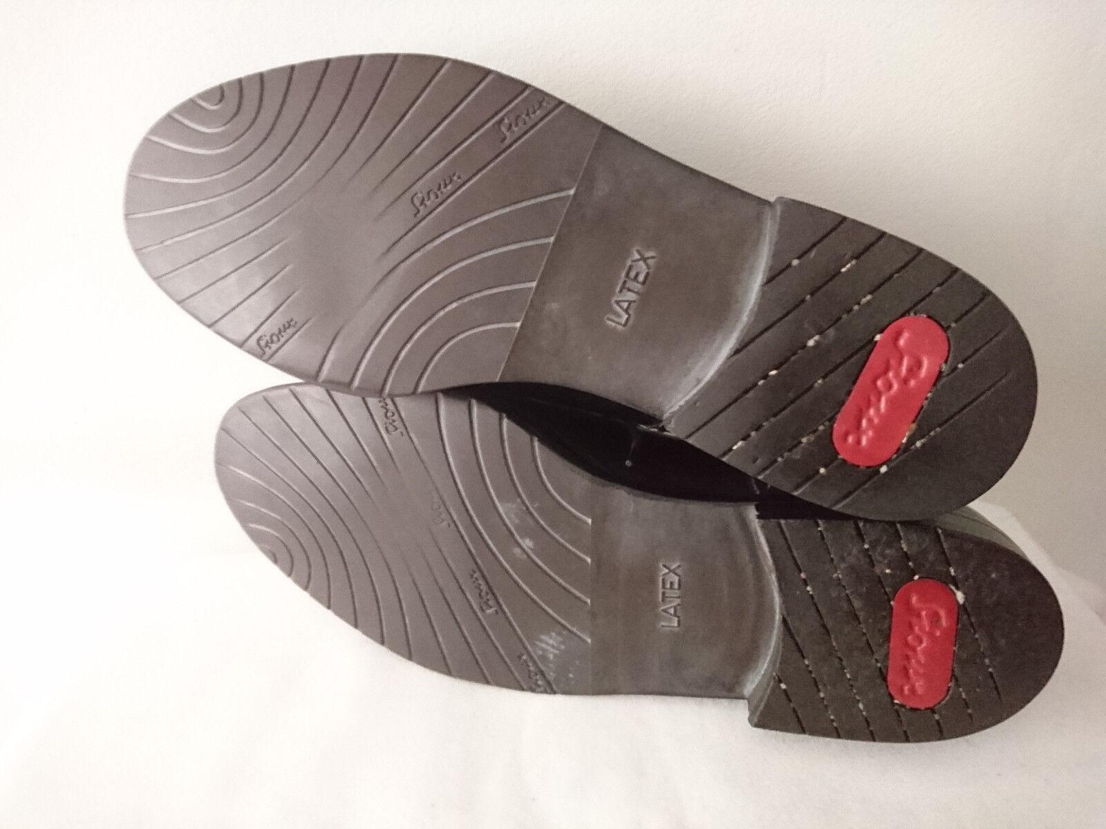 Herren Schuhe 1980 Schnürsenkel schwarz Jahre 1980 Schuhe