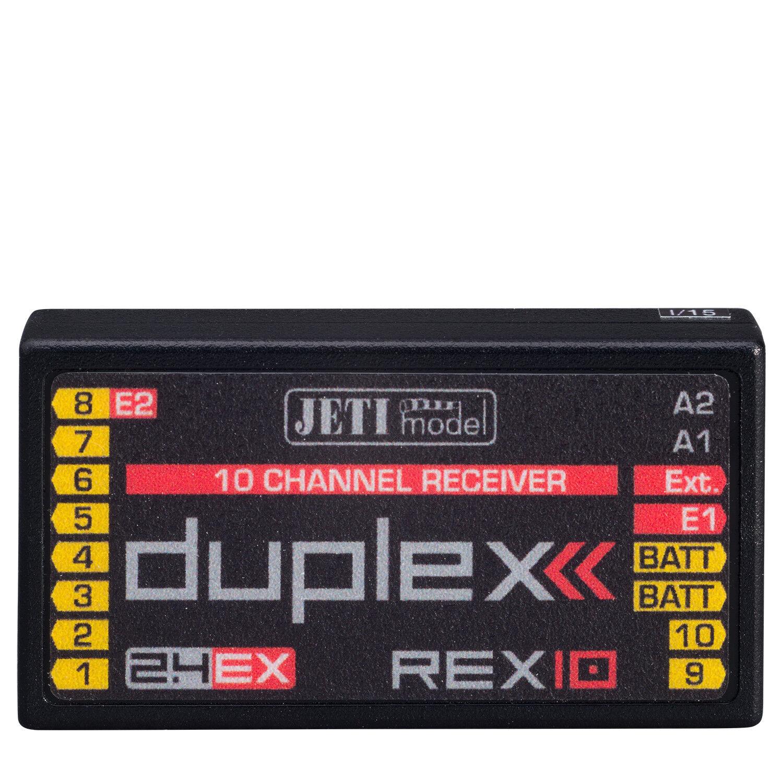 Duplex 2.4ex Receptor REX 10 10 CANALES jetimodel 80001239 820228