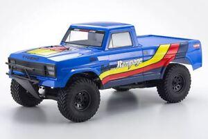 京商-Outlaw Rampage 1/10 2wd 2sra 電動卡車、藍色、賽艇