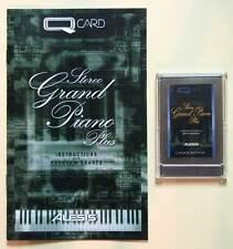 Alesis Stereo Grand Piano Plus QCard w/Booklet, Case, LIFETIME Warranty! QS QSR
