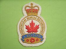Royal Canadian Legion Patch
