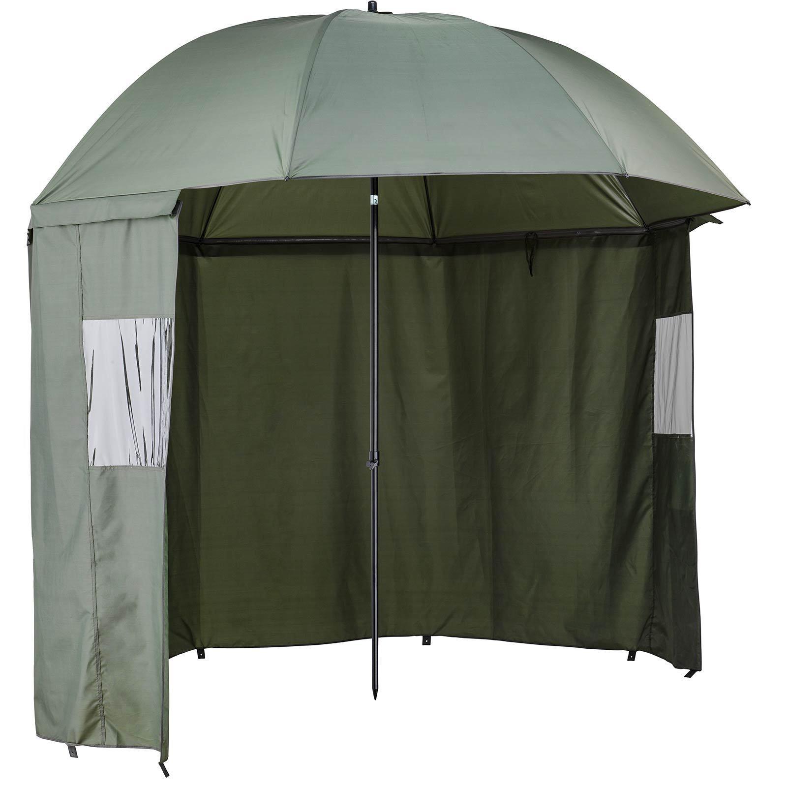 CORMORAN ombrello Tenda Tenda Pesca OmbrelloDeluxe 2,5m Arco larghezza di serraggio
