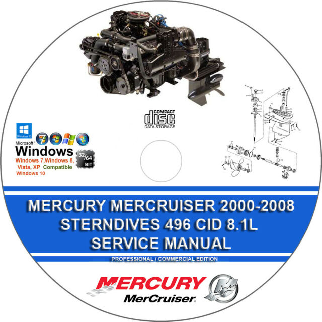 mercruiser 496 shop manual
