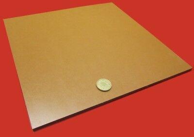 "2 Unit Garolite Micarta Paper Phenolic XX Grade Sheet  .250/"" 1//4/"" x 12/"" x 12/"""