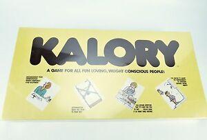 Sealed KALORY Vintage Board Game Night Fun 1979 Fast USA shipping