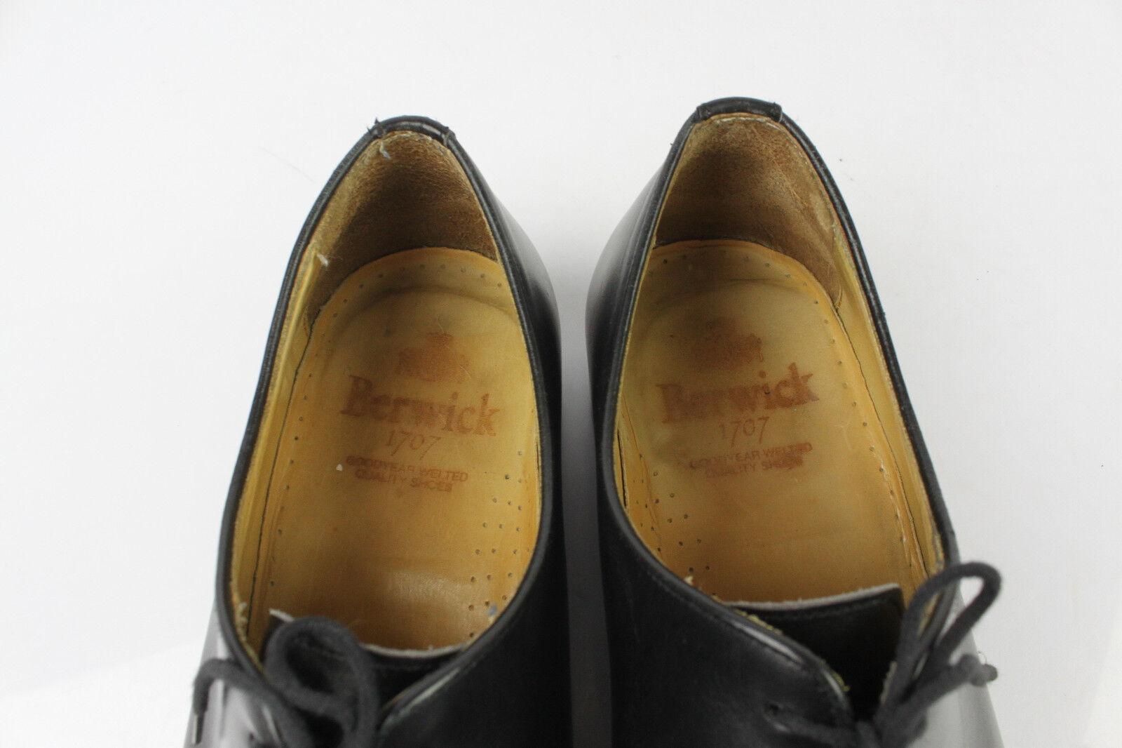 Richelieus BERWICK 1707 Vollleder schwarz Goodyear UK 10,5     FR 45 TBE  92ea95