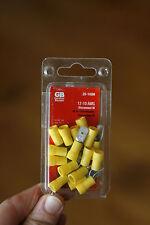 Gardner Bender 20-145M 1 12-10 Gauge Yellow Male Terminal Disconnects  16-Pack