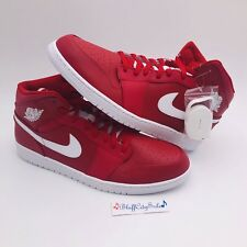 9e4b9cbedee5 item 5 Nike Air Jordan 1 Mid Gym Red White 554724-600 HTF Men s Size 18 New  DS -Nike Air Jordan 1 Mid Gym Red White 554724-600 HTF Men s Size 18 New DS