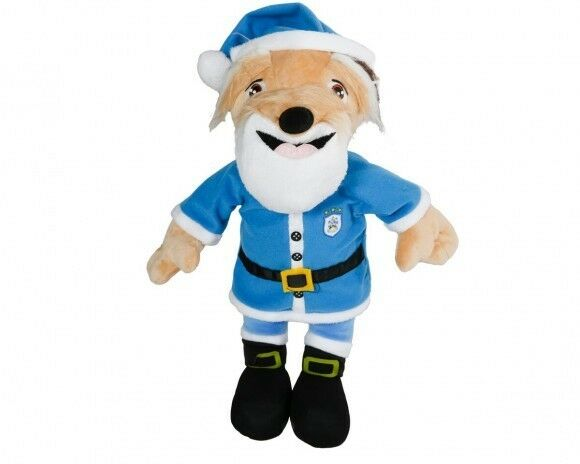 Huddersfield Town HTAFC Terry the Terrier Christmas Teddy Free Delivery