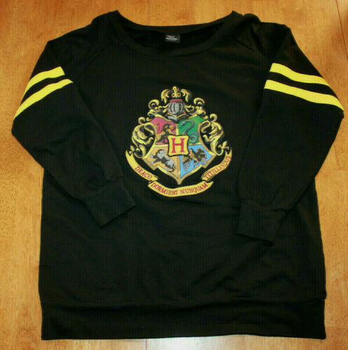 Harry Potter Hogwarts Varsity House Crest Womens L