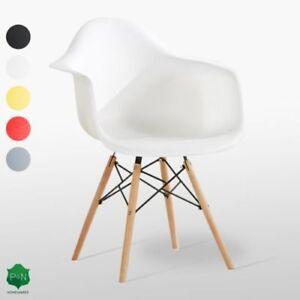 Romano-Wanne-Eiffel-Ess-Sessel-DS-Wanne-Stuhl-Retro-Vintage-Skandinavisch-Stil