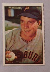 Details About 1985 Dover Reprint 1953 Bowman Bob Friend Pirates Baseball Card