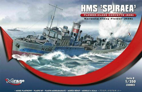HMS Spiraea in 1:350 K08 MIRAGE HOBBY® 350803 Flower-Class Corvette
