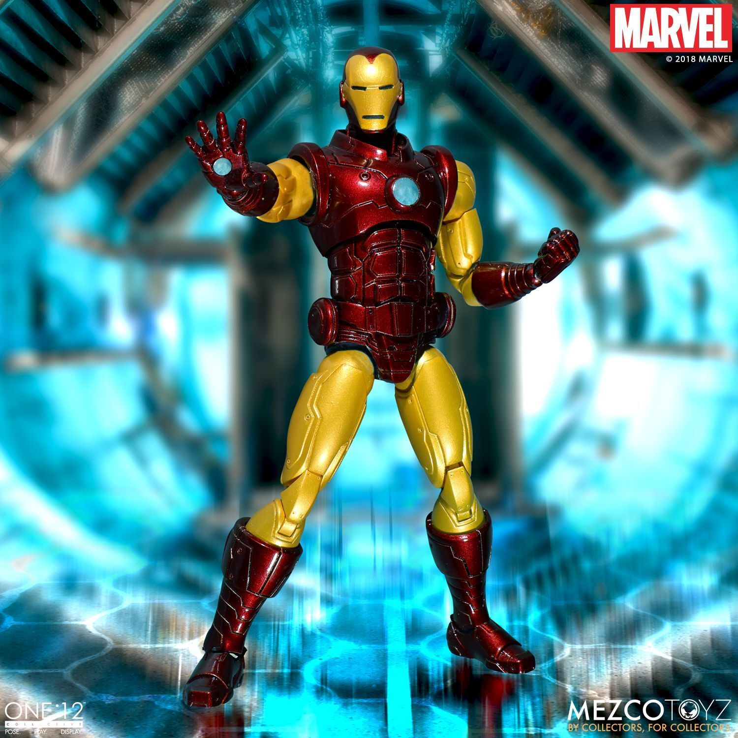 Mezco One 12 Collective Iron Man Action FIgure IN STOCK USA